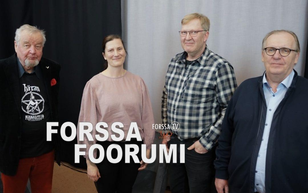 Forssa Foorumi – Kulttuuri ja tapahtumat seudun voimavaraksi
