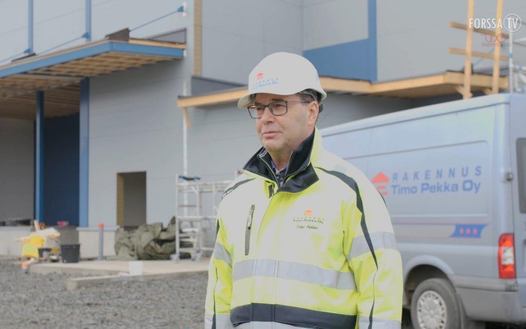 Hätäset 6.10.2020 – Uusi keskuskeittiö ja rakennusala Forssan seudulla