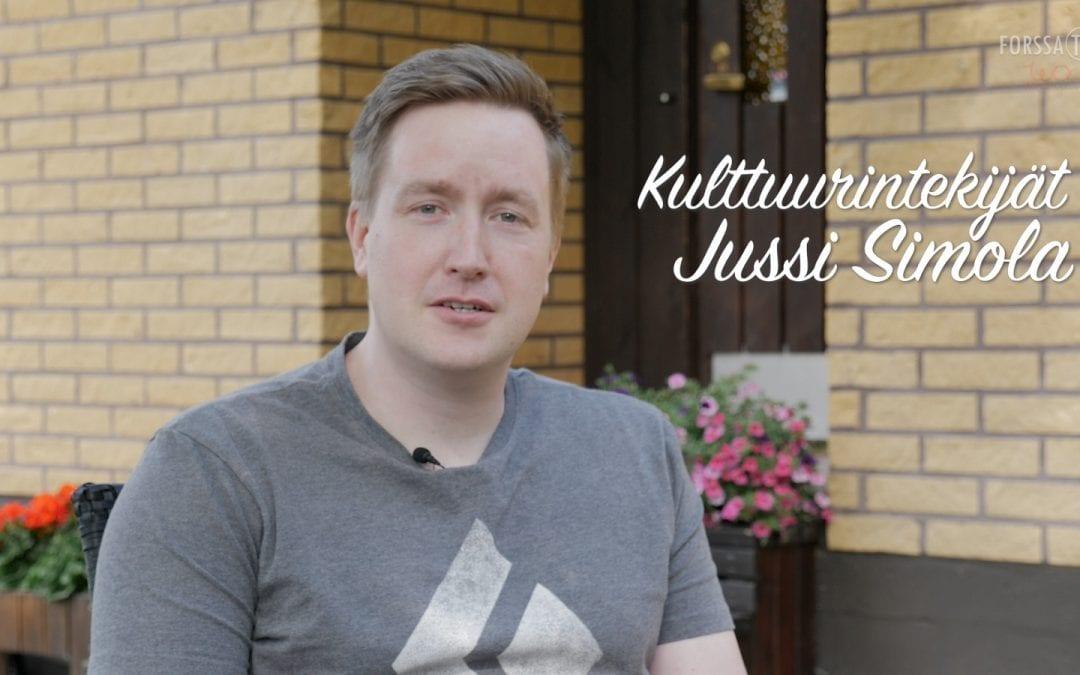 Kulttuurintekijät – Jussi Simola