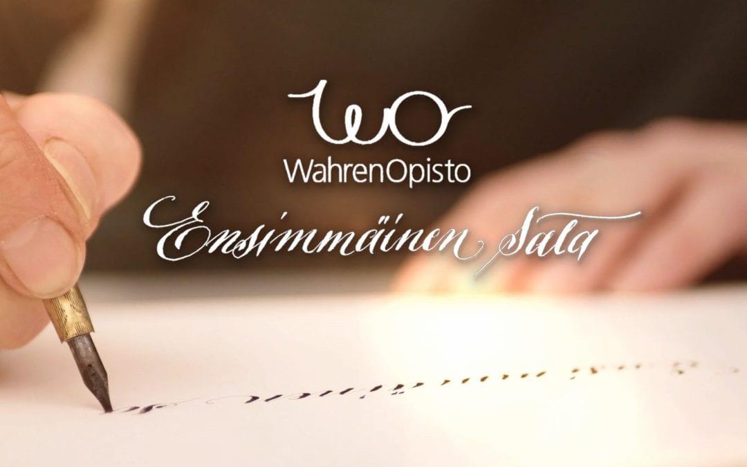"""Wahren opisto   """"Ensimmäinen sata"""" -dokumentti"""