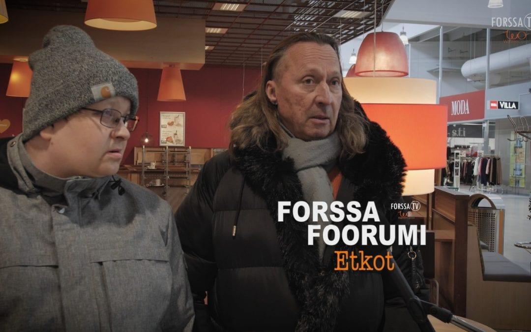Forssa Foorumin etkot – kaipaatko tapahtumia?