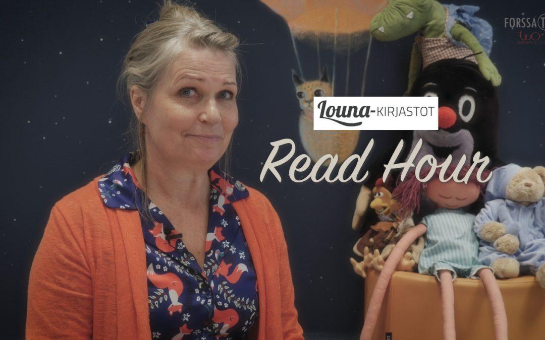 Read Hour – Tunti jolloin Suomi lukee, Louna-kirjastot