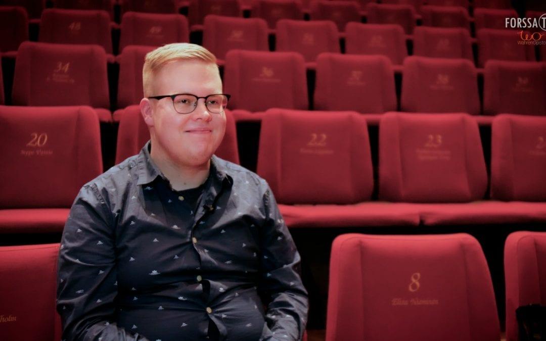 Hätäset – Forssan Teatterin uusi puheenjohtaja